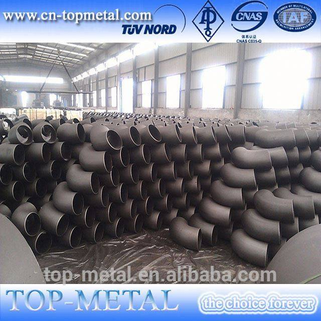 st37.0 din 2605 45deg seamless pipe elbow