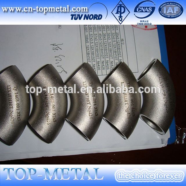 stainless steel diameter 150mm elbow