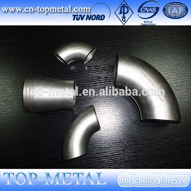 stainless steel pipe fitting elbow/bend
