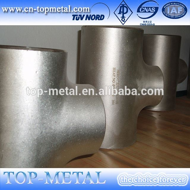 stainless steel pipe fittings/equal tee weight