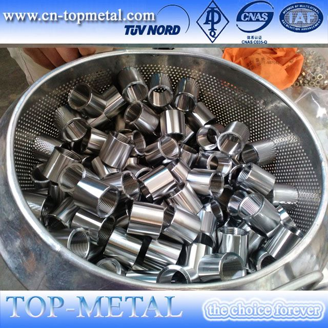 stainless steel pipe fittings threaded pipe socket