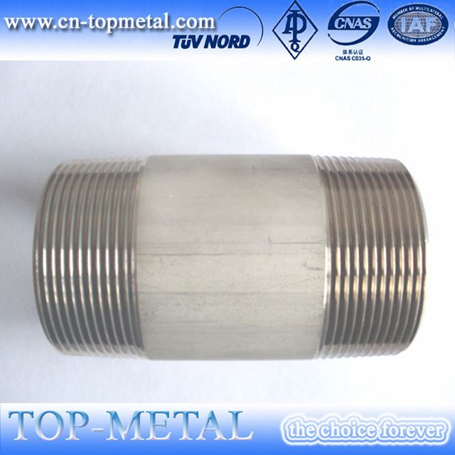 baja sch80 steel thread npt las nipple