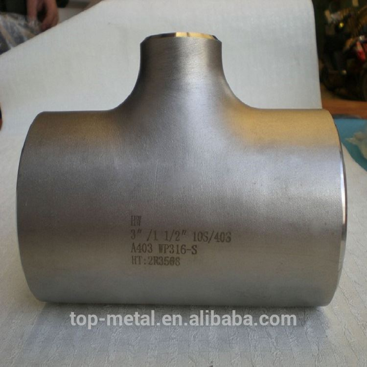 super quality seamless steel butt welded reducer pipe fitting dimension
