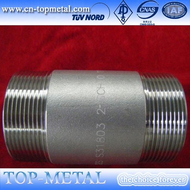 threaded fittings pipe nipples npt sarta harga sch80 pipe