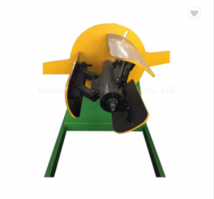 Multi utility roof tile machines double decoiler