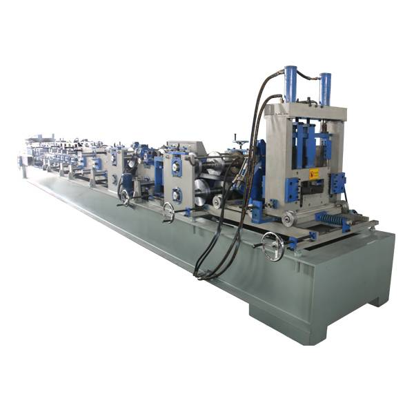 Factory making Roof Crimping Curving Machine - Automatic CZ interchange purlin machine – Haixing Industrial
