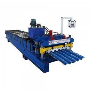 Glazed roof coil machine wall panel roll forming line