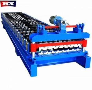 10% discount easy installation trapezoidal sheet ibr roll forming machine