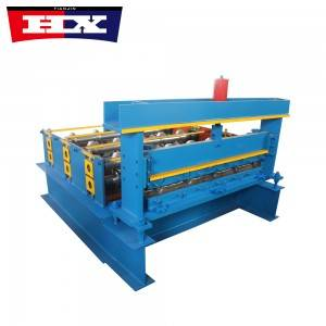 Color Steel Roof Curving Machine