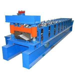 Galvanized Ridge Cap Roofing Sheet Roll Forming Machine