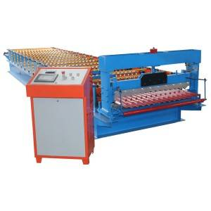 Corrugated Kulmi Panel Roll formimin Machine