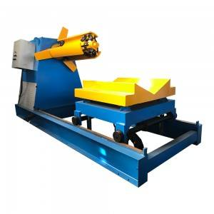5t/6t/7t/8t/10t/12t/15t/20t hydraulic decoiler for press