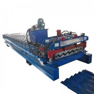 2019 High Quality Glazed Tile Making Machinery Roof Forming Machine