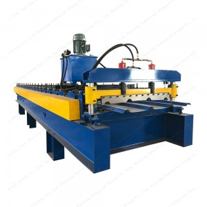 1100mm steel tile roofing sheet roll forming machine