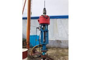 Single metal screw pump