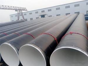 3PE anti-corrosion spiral welded pipe
