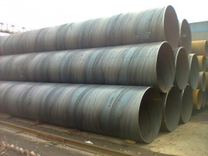 The mill tolerance for welded pipe