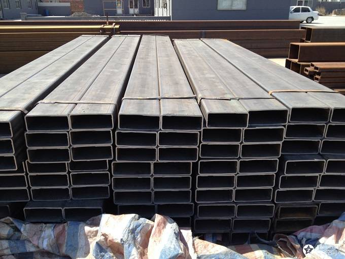 Carbon Black Square Rectangular Mild Steel Pipe Price Rhs Shs Steel Pipe Featured Image