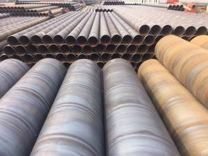 Api Spiral Insulation Steel Pipe