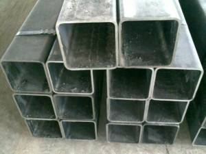 Erw Ss400 40x40mm Shs Hot Dip Greenhouse Gi Pipe