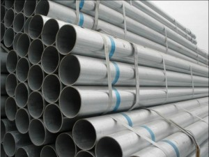Sch40 Hot Dip Galvanized Steel Pipes For Scaffolding