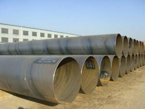SSAW welded pipe best price in china