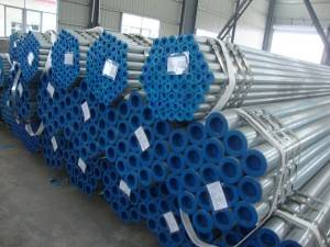 Hot dip galvanized steel pipe producer in china