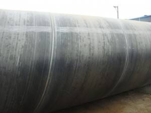 Water /gas And Oil Transport Used Spiral Welded Steel Pipe