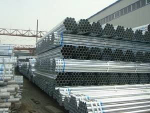 Hot galvanized Steel Tubo