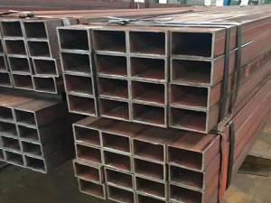 Chinese manufacturing company exporting European rectangular tubes