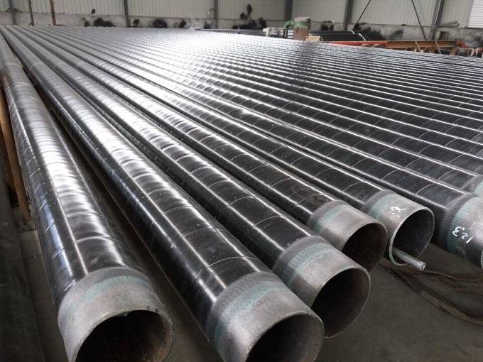 3PE anti-corrosion spiral welded pipe Featured Image
