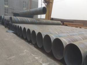 Biggest size welded pipe diameter