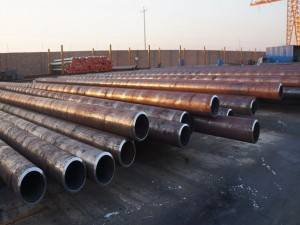 Astm A53 Black Seamless Steel Pipe
