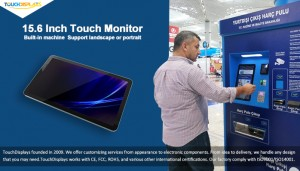 Congratulations! New 15.6 inch Touch Monitor Project in Turkey Istanbul Airport!