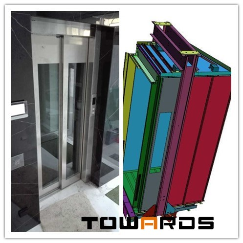 New Customized Irregular Elevator Cabin