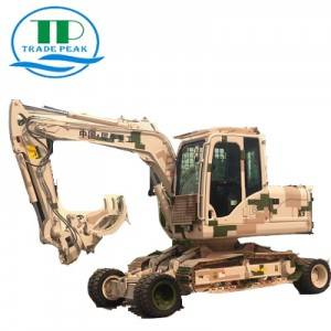 Mini excavator copper X9