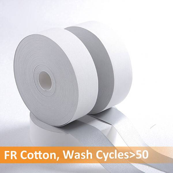 Best Price for White Reflective Safety Tape - Cotton Flame Retardant Reflective Tape-TX-1703-FR – Xiangxi