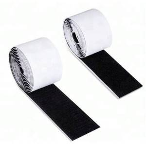 100% Original China adhesive Hook and Loop Fabric Fastenering Tape
