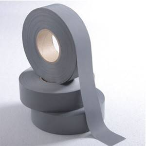 Ecnomical Poly Grey Reflective Tape