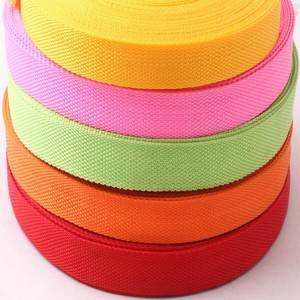 Big discounting China Factory Sale PP Webbing, Polyester Strap, Cotton Ribbon, Nylon Tape for Garment Accessories