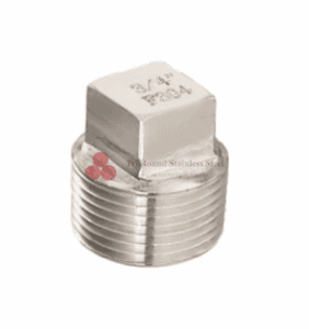 Stainless Steel Forged Fittings NPT &Square Head Plug