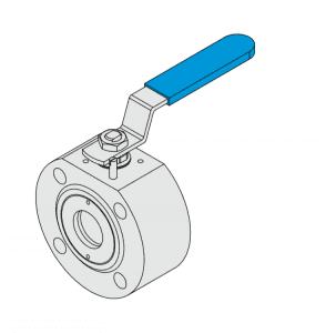 WAFER BALL VALVE ,FULL PORT,PN16-40 ISO MOUNTING PAD