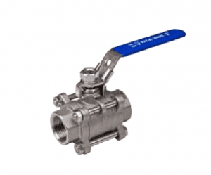 3-PC BALL VALVE FULL PORT 1000WOG,PN63 DIN STANDARD