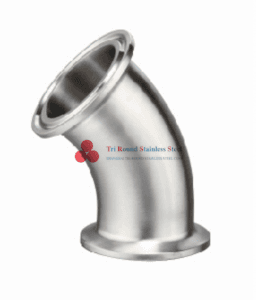 Sanitary Long-type Clamped Elbow 45D