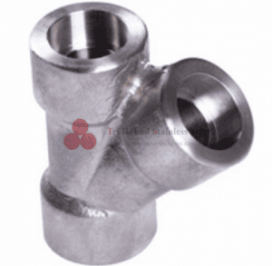 Stainless Steel Forged Fittings NPT &45 °Tee