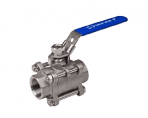 3-PC BALL VALVE FULL PORT 1000WOG PN63 TECHNICAL TYPE