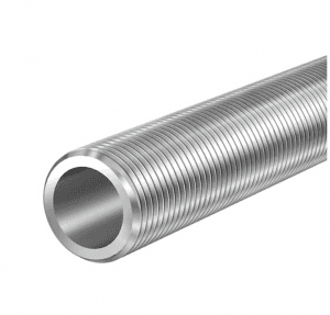Outside thread seamless stainless steel pipes