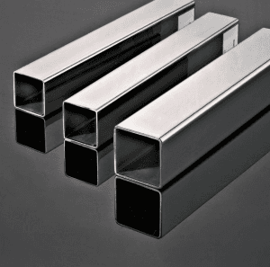 Square stainless steel polishing tube