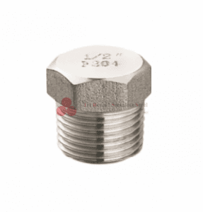 Stainless Steel Forged Fittings NPT &Hex. Head Plug