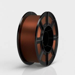 Factory selling Low Warp Abs Filament - PLA Metal Color 3D Printer Filament – TronHoo
